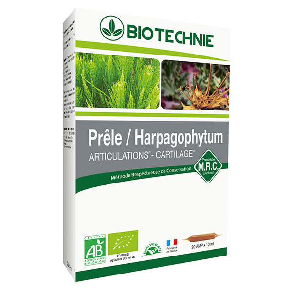 BIOTECHNIE Prêle / Harpago  AB ampoules