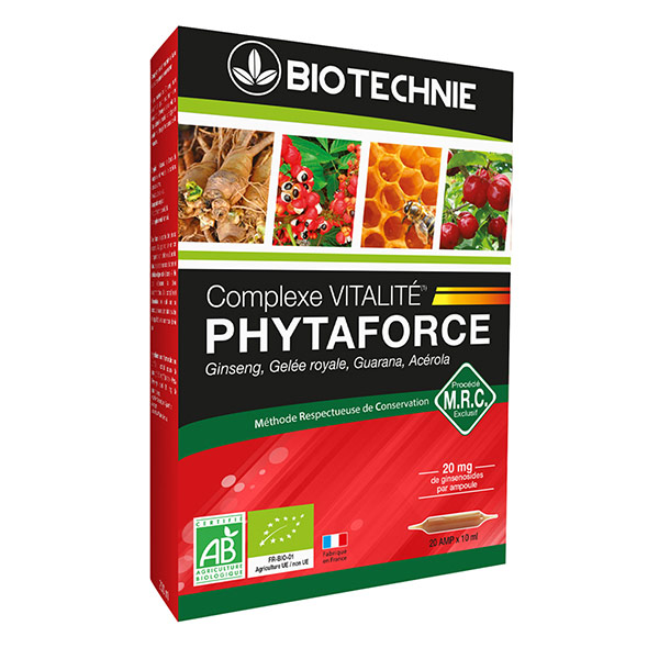BIOTECHNIE Phytaforce AB ampoules